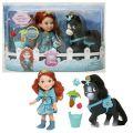 Кукла Disney Princess 755060 Принцессы Дисней Малышка с конем 15 см
