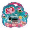 Pet Club Parade PTD00131 Пет Клаб Парад Фигурка собачки в комплекте с косточкой и поводком, ассорт.