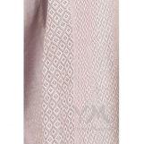 Слинг с кольцами из шарфовой ткани Grey Rose (серый, розовый)