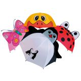 Зонтик детский, с животными(пингвин)