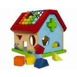 Развивающая игра-домик