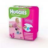 Хаггис подгузники Ультра Комфорт для девочек 3 (5-9 кг) 21 шт