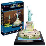 Кубик фан Статуя Свободы с иллюминацией (США)