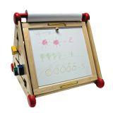 Развивающий центр 7 в 1 (алфавит, часы, доски для рисования, логические сортеры, счёты)