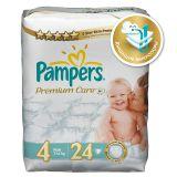 Подгузники Pampers Premium Care 7-14 кг (4 размер, maxi), 24 шт. (стандартная упаковка)