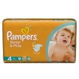 Подгузники Pampers Sleep & Play 7-14 кг (4 размер, maxi), 50 шт. (экономичная упаковка)