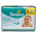 Детские влажные салфетки Pampers  Baby Fresh Clean,  128 шт.