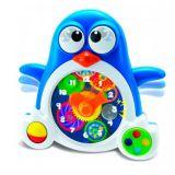 Пингвиненок-часы