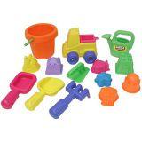 Набор : 15 игрушек для песочницы в сетке