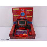 Компьютер 7074 обучающий, русско-английский, с мышкой, на батарейках, в коробке 29*24*7см JOY TOY