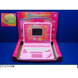 Компьютер 7025 русско-английский, обучающий, с ручкой, на батарейках, в коробке 37*27*5см JOY TOY