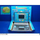 Компьютер 7026 русско-английский, обучающий, с ручкой, на батарейках, в коробке 37*27*5см JOY TOY