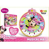 Коврик 180963 Minnie музыкальный на батарейках, в коробке TM Disney