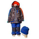 Костюм (куртка, брюки, жакет, шапка) для мальчика