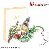 3D пазл Cubic Fun OC3201h Городской пейзаж - Лондон