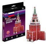 Игрушка Cubic Fun S3035 Кубик фан Спасская башня (Россия)