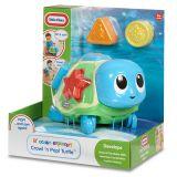 Игрушка развивающая Ползающая черепаха-сортер, звук. эф-ты