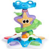 Игрушка развивающая Морская звезда с горкой-спиралью, звук., свет. эф-ты