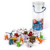 Good Dinosaur 62321 Хороший Динозавр Мир динозавров, 25-30 фигурок в тубе