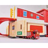 Пожарный Сэм, Пожарная станция с акс, + машинка