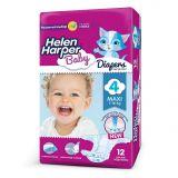 Подгузники Helen Harper Baby Maxi, 7-18кг, 12шт.