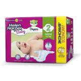 Подгузники Helen Harper Baby Mini, 3-6кг, 78шт.