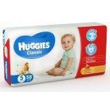 Подгузники Huggies Сlassic Mega Pack 5, 11-25 кг, 58шт.