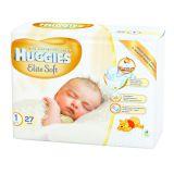 Подгузники Huggies Elite Soft 1, до 5кг, 27шт.