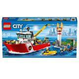 Игрушка Город Пожарный катер