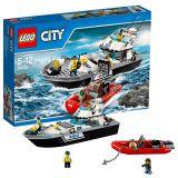 Лего Город Полицейский патрульный катер 60129