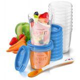 Набор контейнеров для хранения детского питания Philips Avent SCF721/20, 20шт.