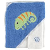 Полотенце с капюшоном и салфетка для купания