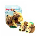 Погремушка-пинеточки Маша и Медведь