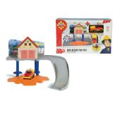 Пожарный Сэм, маленькая пожарная станция + 1 машинка