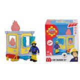 Пожарный Сэм, Маленькая тренировочная база + 1 фигурка