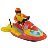 Пожарный Сэм, Водный мотоцикл со светом, акс. + фигурка