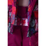 Костюм для девочки (куртка, полукомбинезон, шарф)