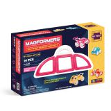 Магнитный конструктор Magformers My First Buggy set, розовый