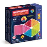 Магнитный конструктор Magformers Window Solid 14 set