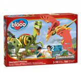Dinosaurus-Velociraptor&Pterausus.   Динозавры: Велоцераптор и Птерозавр