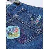 Полукомбинезон джинсовый для девочки