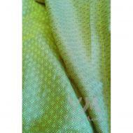 Слинг с кольцами из шарфовой ткани Emerald (салатовый, коричневый)