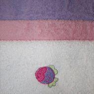 Комплект Полотенце с капюшоном и 4 салфетки