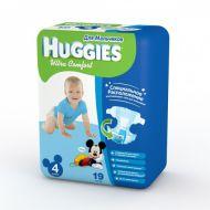 Хаггис подгузники Ультра Комфорт для мальчиков 4 (8-14кг) 19 шт