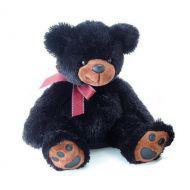 AURORA Игрушка мягкая Медведь чёрный 70 см