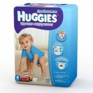Хаггис Трусики-подгузники 4 для мальчиков (9-14кг) 17 шт