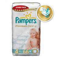 Подгузники Pampers Premium Care 7-14 кг (4 размер, maxi), 66 шт. (джамбо упаковка)
