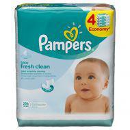 Детские влажные салфетки Pampers  Baby Fresh Clean,  256 шт.