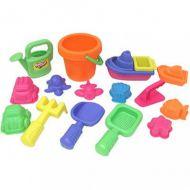 Набор : 16 игрушек для песочницы в сетке