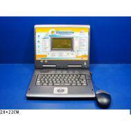 Компьютер 7004 русско-английский обучающий, с мышкой на батарейках, в коробке 28*22см JOY TOY